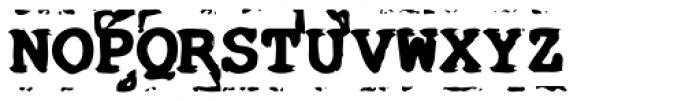 Old Stefan No 5 Font UPPERCASE