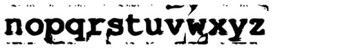 Old Stefan No 5 Font LOWERCASE