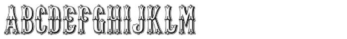 Old Thunder Open Font UPPERCASE