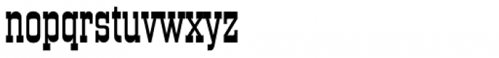 Old Towne No 536 EF Font LOWERCASE