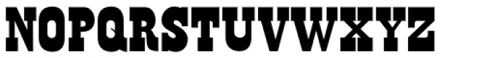 Old Wood JNL Font UPPERCASE