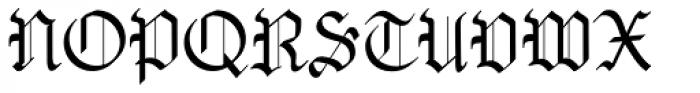 OldHaroldRee Font UPPERCASE