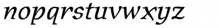 Oldrichium Italic Font LOWERCASE