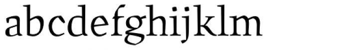 Oldrichium Light Font LOWERCASE