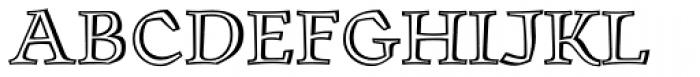 Oldrichium Pro Engraved Font UPPERCASE
