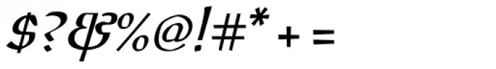 Oldrichium Pro Italic Font OTHER CHARS