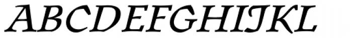 Oldrichium Pro Italic Font UPPERCASE