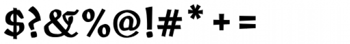 Oldrichium Std Bold Font OTHER CHARS