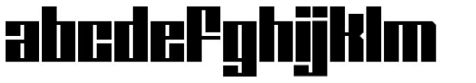 Ole Font LOWERCASE