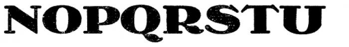 Olech Black Font UPPERCASE