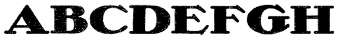 Olech Black Font LOWERCASE