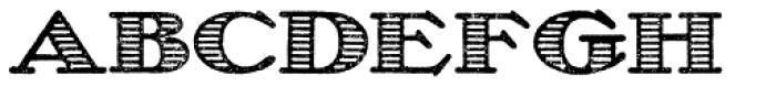 Olech Stripes Font UPPERCASE