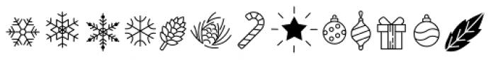 Olis Icons Font UPPERCASE