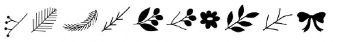 Olis Icons Font LOWERCASE