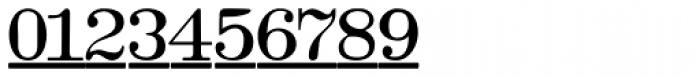 Olivetti Typewriter Underscore Font OTHER CHARS
