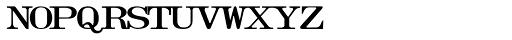 Olivetti Typewriter Wide Font UPPERCASE