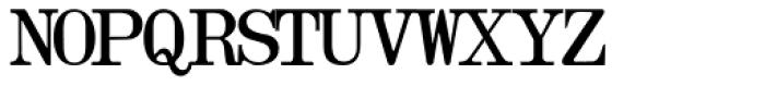 Olivetti Typewriter Font UPPERCASE