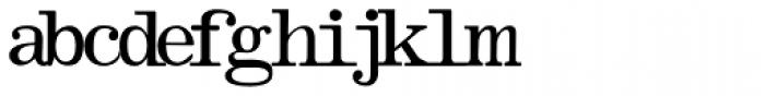 Olivetti Typewriter Font LOWERCASE
