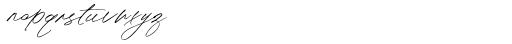 Olivie Font Duo Script Font LOWERCASE