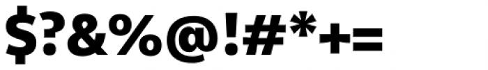 Olivine Black Font OTHER CHARS