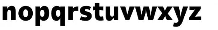 Olivine Black Font LOWERCASE