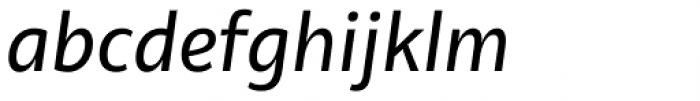 Olivine Italic Font LOWERCASE