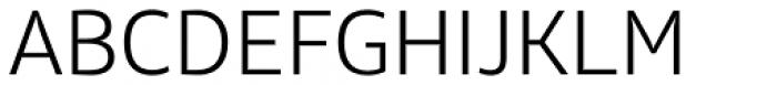 Olivine Light Font UPPERCASE