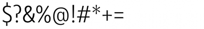 Olivine Narrow Light Font OTHER CHARS