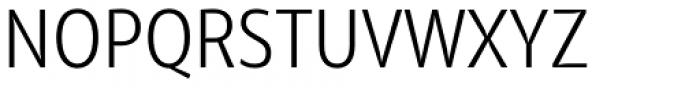 Olivine Narrow Light Font UPPERCASE
