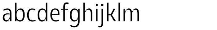 Olivine Narrow Light Font LOWERCASE