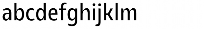 Olivine Narrow Regular Font LOWERCASE