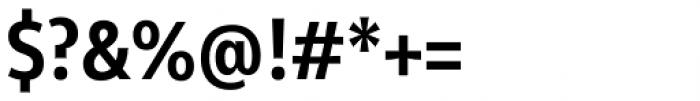 Olivine Narrow Semi Bold Font OTHER CHARS
