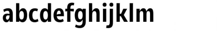 Olivine Narrow Semi Bold Font LOWERCASE