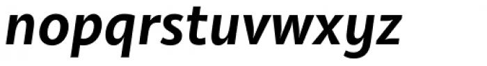 Olivine Semi Bold Italic Font LOWERCASE
