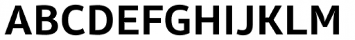 Olivine Semi Bold Font UPPERCASE