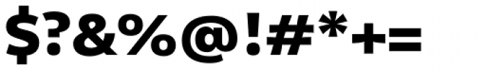 Olivine Wide Black Font OTHER CHARS