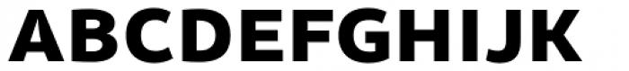 Olivine Wide Black Font UPPERCASE