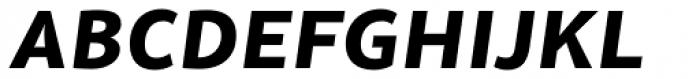Olivine Wide Bold Italic Font UPPERCASE