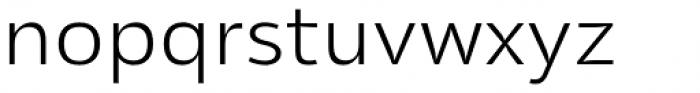 Olivine Wide Light Font LOWERCASE