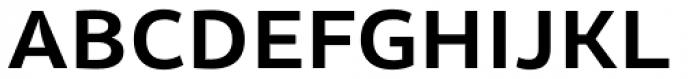 Olivine Wide Semi Bold Font UPPERCASE