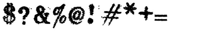 Ollivette Font OTHER CHARS