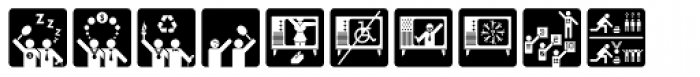 Olympukes Dark Font LOWERCASE