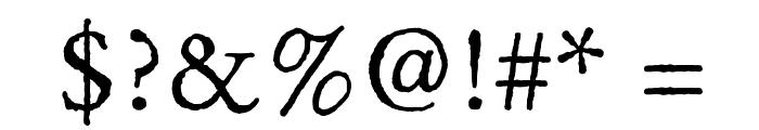OldClaudeLPStd Font OTHER CHARS