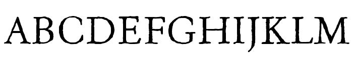 OldClaudeLPStd Font UPPERCASE