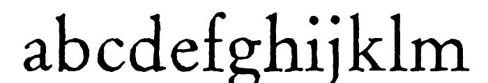 OldClaudeLPStd Font LOWERCASE