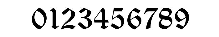 OldEnglishD Font OTHER CHARS