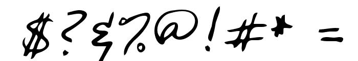 Olga Regular Font OTHER CHARS