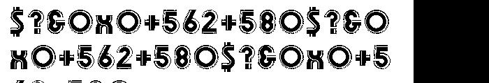 Olympik Regular Font OTHER CHARS