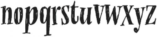 OMORIKA Regular otf (400) Font LOWERCASE