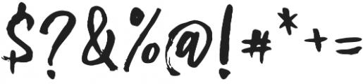 Omarbig Regular otf (400) Font OTHER CHARS